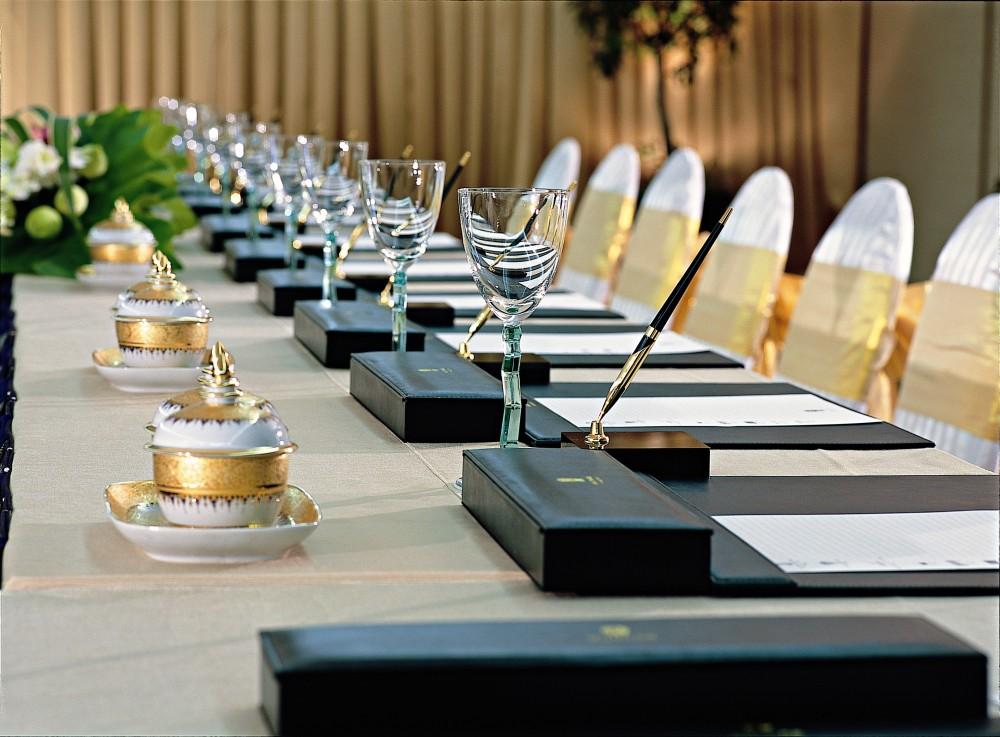 Meeting Room Table Setup